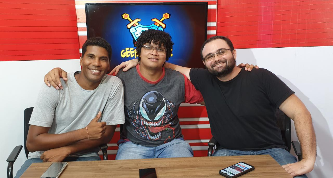 Assista ao vivo ao programa Geek Player